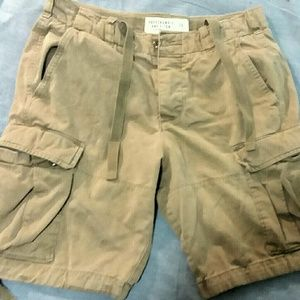 Abercrombie Cargo Shorts -- as 30